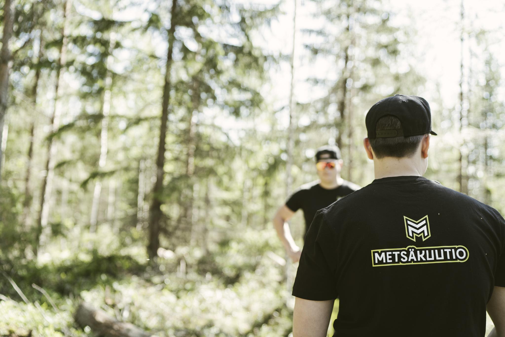 Metsäkuution ukot metsänhoitotöissä